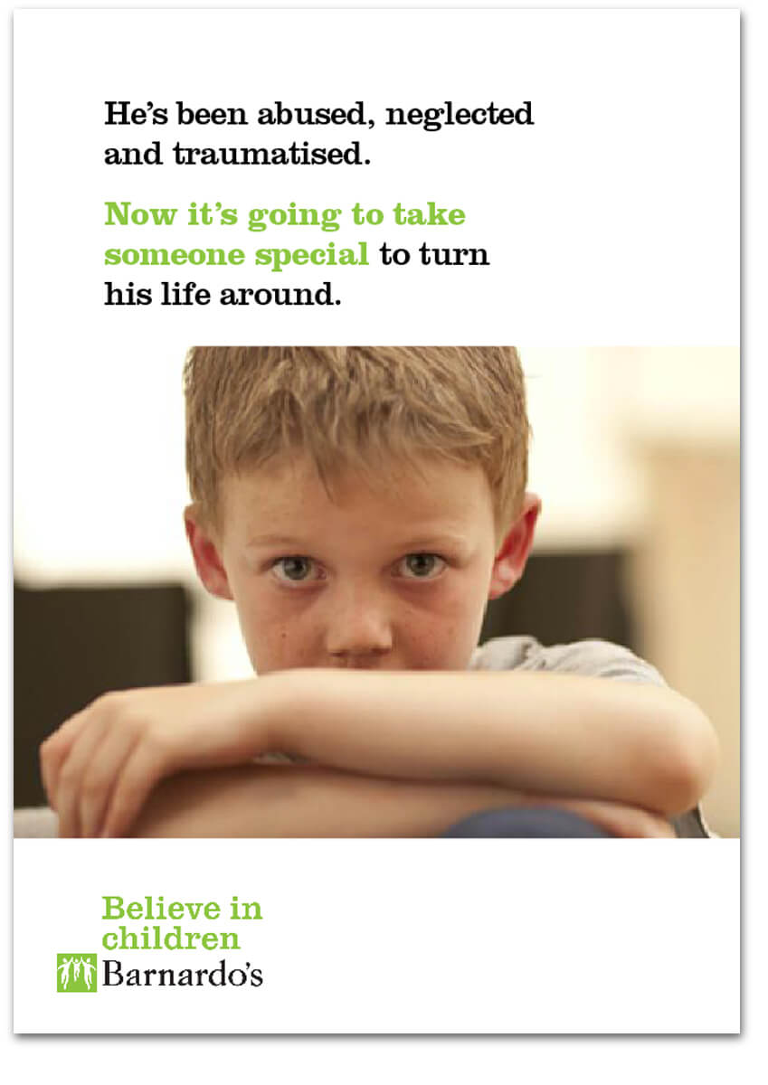 Social and Local Barnados Children Services Brochure