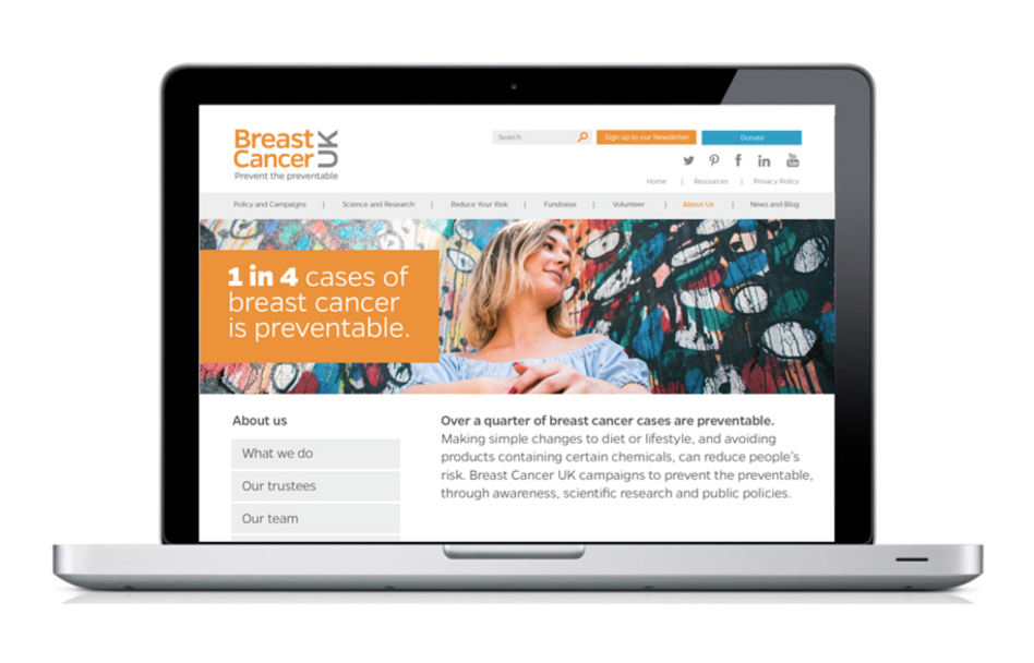 Breat Cancer Website